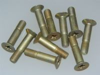 "10 x 1/4"" UNF Screw Steel Countersunk Length 1 1/8"" Part AS65010-4-11 [B1]"